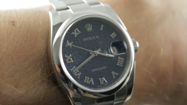 Rolex Datejust Jubilee Dial 116200 Re...