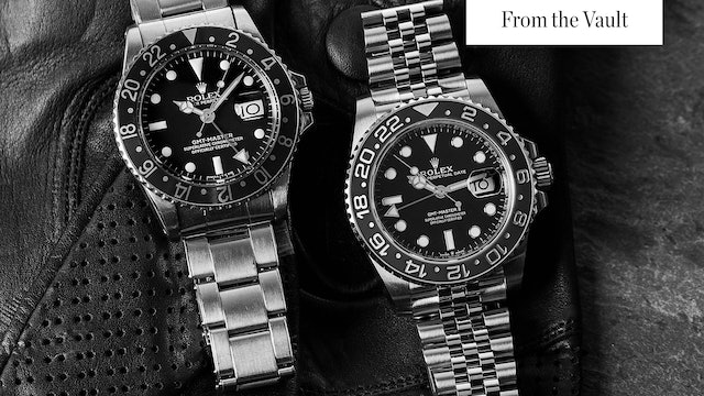 Rolex (Pepsi) GMT Master II & Rotating Bezel Sports Watches
