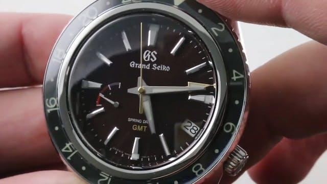 Grand Seiko Spring Drive GMT SBGE245 ...