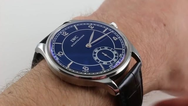 IWC Portugieser Vintage IW5445-01 Review