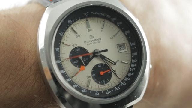 Vintage Bucherer Lemania Chronograph (9801) Review