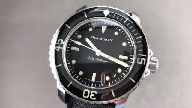 Blancpain Fifty Fathoms Nageurs De Co...