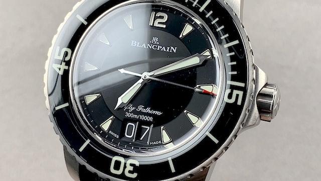 Blancpain Fifty Fathoms Grande Date 5050-12B30-B52A Review