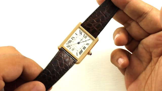 Quick Review: Cartier Tank Solo XL Re...