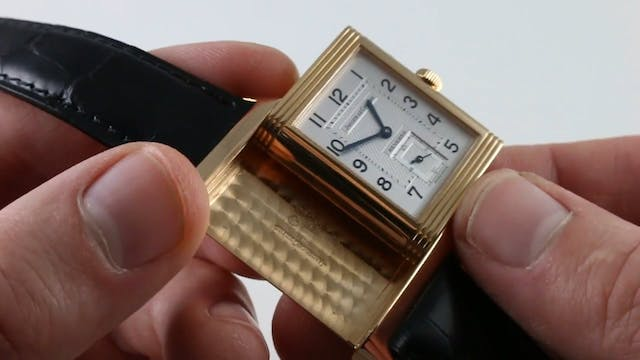 Jaeger Lecoultre Reverso Duo 270.2.54...