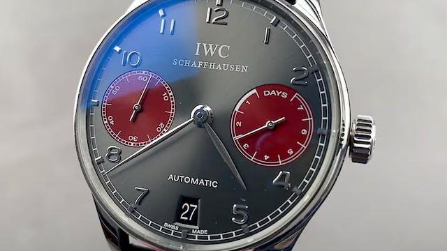 "IWC Portugieser Automatic Edition ""Tr..."