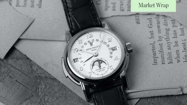The MOST Important Watches Going Up for Auction (5/7/2021)