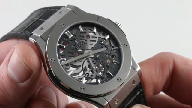 Hublot Classic Fusion Ultra Thin Skeleton 515.NX.0170.0Lr Review