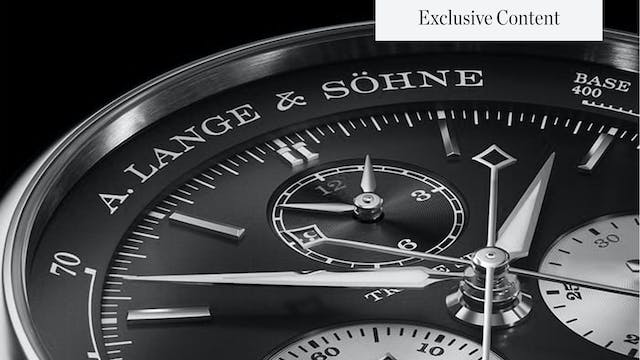 Watches & Wonders 2021: A. Lange & So...