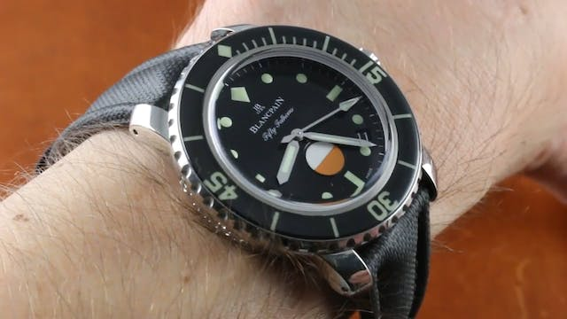 Blancpain Fifty Fathoms Milspec Tribu...
