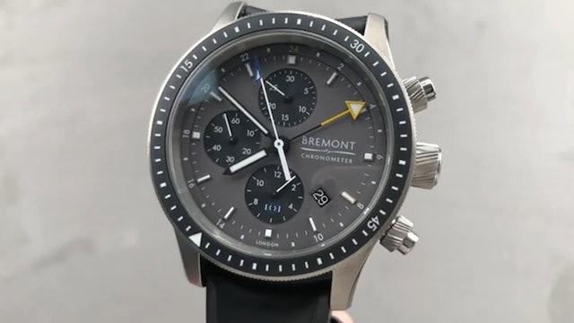 Bremont Boeing Chronograph GMT Model247 Ti Dg Bremont Watch Review