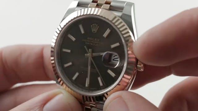 Rolex Datejust 41 Jubilee Everose Ste...