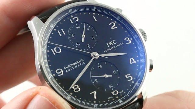 IWC Portuguese Chronograph IW3714-47 ...