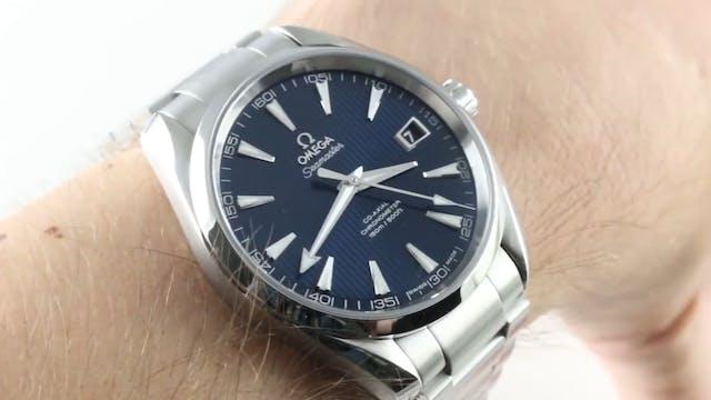 Omega Seamaster Aqua Terra (Blue Stee...
