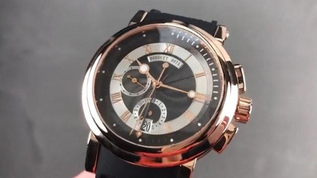 Breguet Marine Chronograph 5827BR Z2 5Zu Breguet Watch Review
