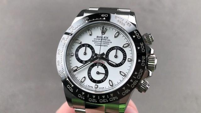 Rolex Daytona Ceramic White Dial 116500LN Review