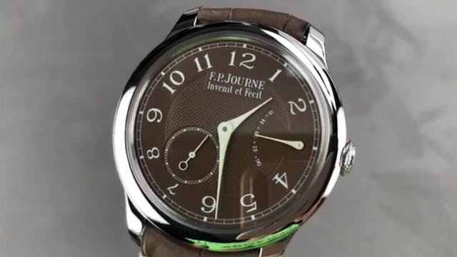 F.P. Journe Chronometre Souverain Pla...