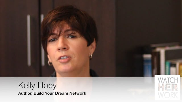 Entrepreneurship: There's Power in a Paycheck, Kelly Hoey