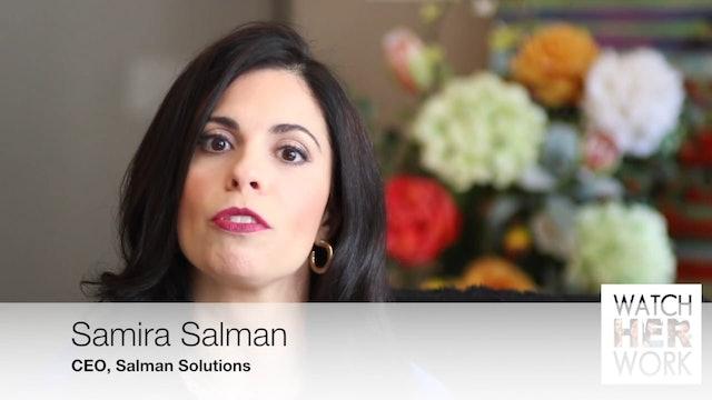 Career Advancement: Protect Your Boundaries,  Samira Salman