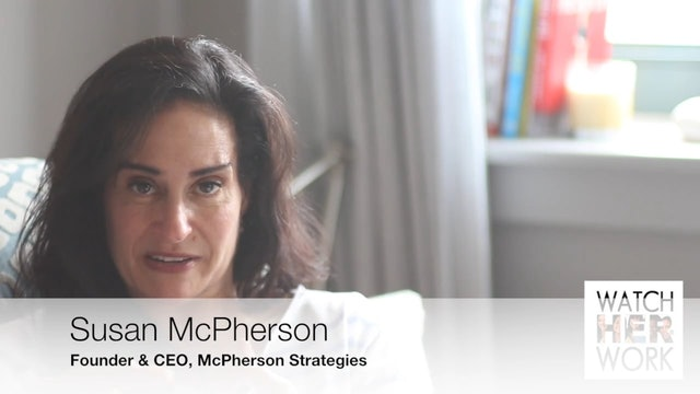 Entreprenuership: Don't Operate In Fear, Susan McPherson
