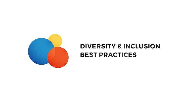 Episode 2: Diversity + Inclusion Best...