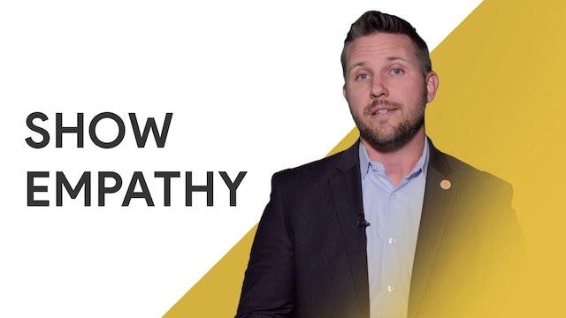 Show Empathy: Aaron Peace