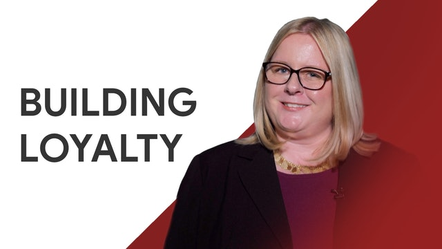 Building Loyalty: Nicole Enright