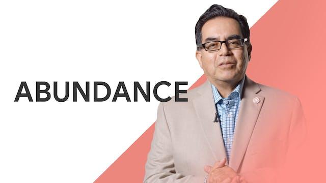 Abundance: David Adame