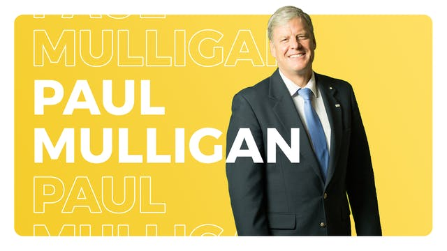 Paul Mulligan, CEO, Catholic Charities