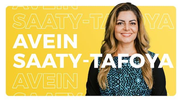 Avein Saaty-Tafoya, President & CEO, ...