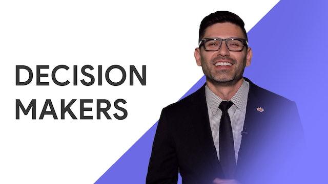 Decision Makers: Jesse O. Garcia