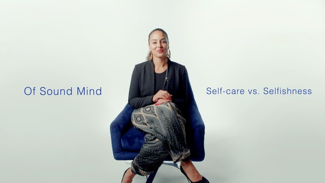 Self-care vs. Selfishness