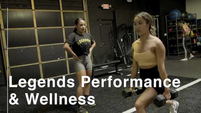 Leading in the Moment: Legends Performance and Wellness