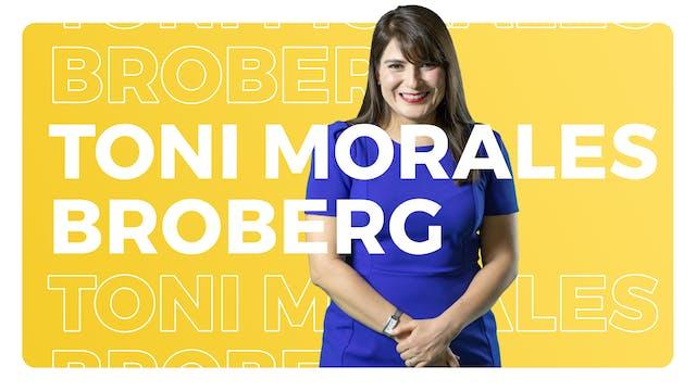 Toni Morales Broberg, State President...