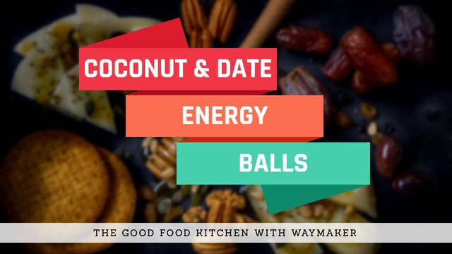 NOURISH: Coconut and Date Energy Balls