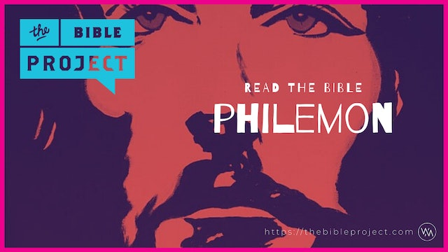 The book Of Philemon Overview.