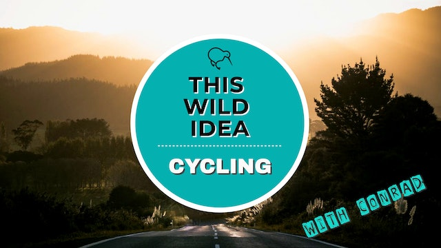 THIS WILD IDEA In New Zealand - Cycling With Conrad