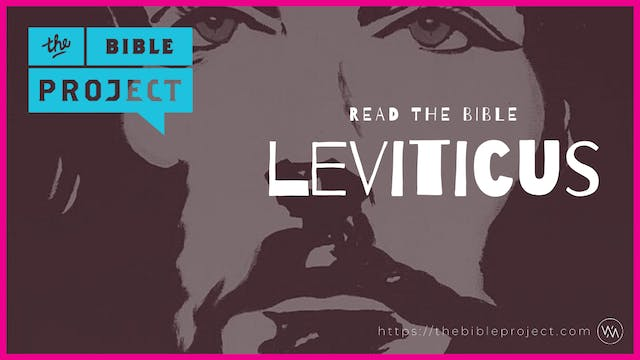 The book of Leviticus Overview.
