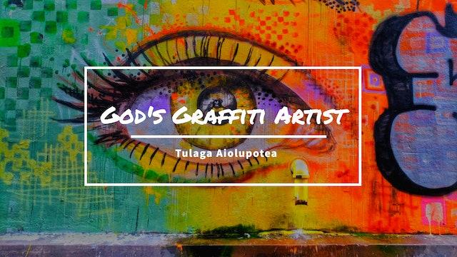 God's Graffiti Artist - Tulaga Aiolupotea
