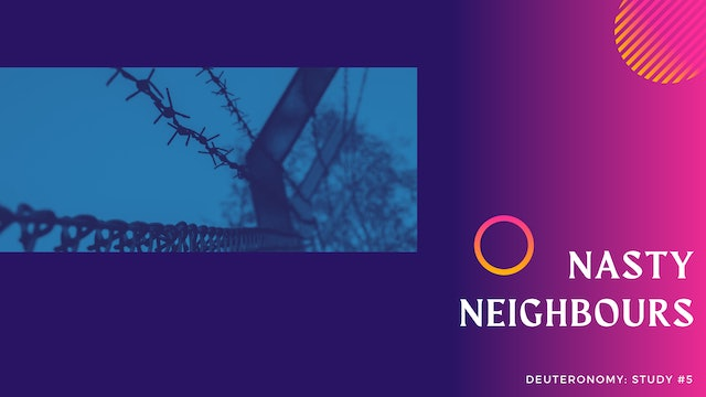 These Are The Words: Nasty Neighbours - Episode 5