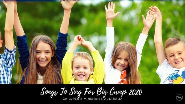 Children's Ministries Big Camp Online 2020: Sing With HAPPYCAZ, Kylie & Brenton