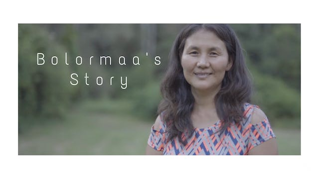 Bolormaa's Story