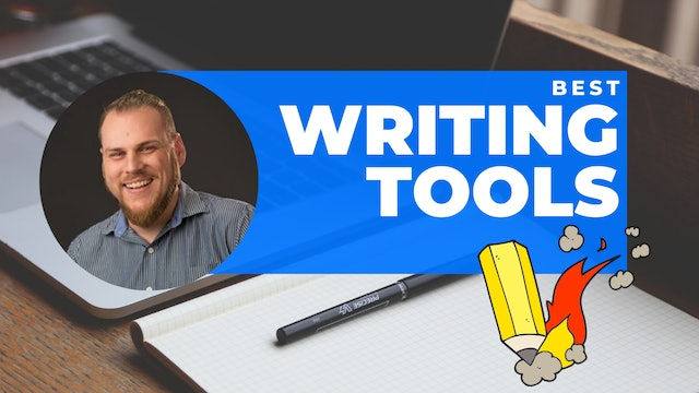 Episode 3: 60 Second Writing Tips - Best Writing Tools