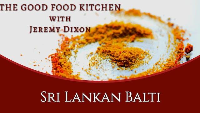 Sri Lankan Balti