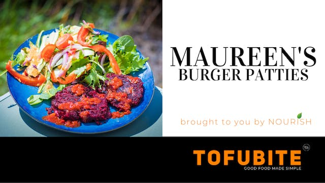 Nourish: Maureen's Burger Patties