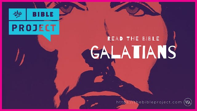 The book Of Galatians Overview.