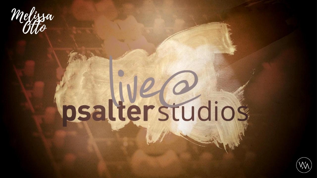 'Live @ Psalter Studios' With Melissa Otto