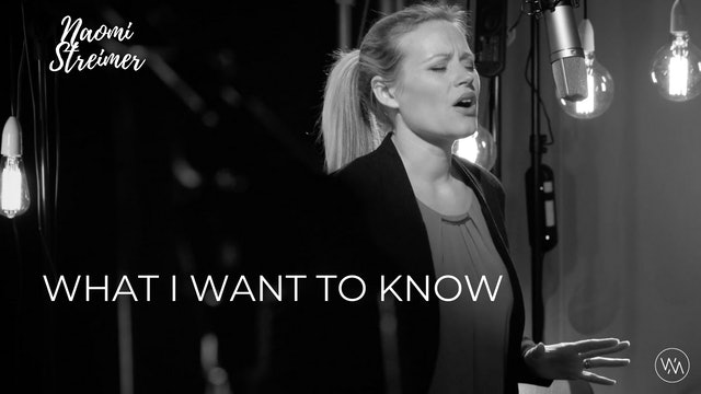 PSALTERLive: Naomi Streimer - What I Want To Know