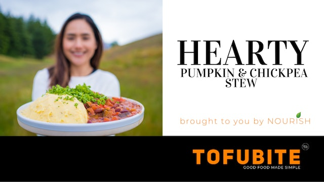 Nourish: Hearty Pumpkin & Chickpea Stew