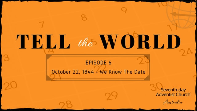 October 22, 1844 - We Know the Date